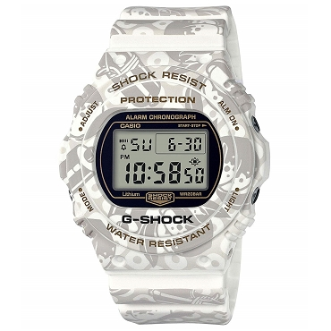 Casio G-Shock DW-5700SLG-7JR Seven Lucky God Shichi-fuku-jin Elderly Men's Watch Limited Edition - JDM Product (Japanese Domestic Market) Model