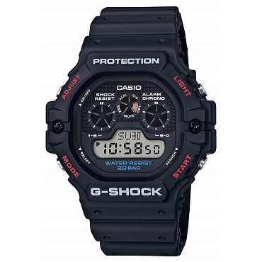 Casio G-Shock DW-5900-1JF Shock Resistant 20 ATM Men's Watch - JDM (Japanese Domestic Market) Model