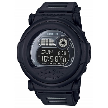 Casio G-Shock G-001BB-1JF All Black Classic Matte Men's Watch - JDM (Japanese Domestic Market) Model