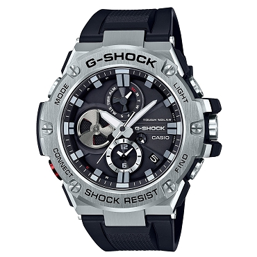 Casio G-Shock G-Steel GST-B100-1AJF Tough Solar Mobile Link Men's Watch iOS Android - JDM (Japanese Domestic Market) Model