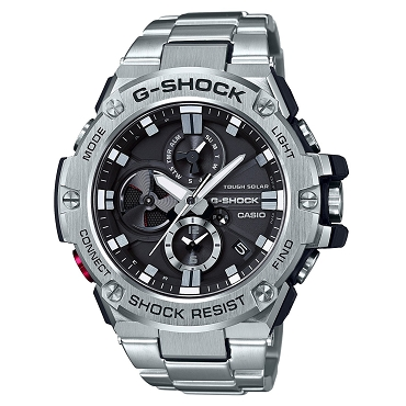 Casio G-Shock G-Steel GST-B100D-1AJF Tough Solar Mobile Link Men's Watch iOS Android - JDM (Japanese Domestic Market) Model