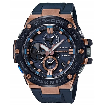 Casio G-Shock G-Steel GST-B100G-2AJF Tough Solar Mobile Link Men's Watch iOS Android - JDM (Japanese Domestic Market) Model