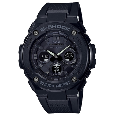 Casio G-Shock G-Steel GST-W300G-1A1JF Tough Solar Multiband 6 Men's Watch - JDM (Japanese Domestic Market) Model