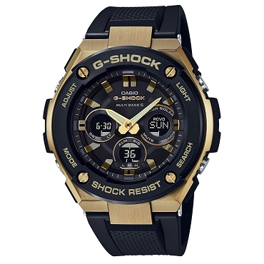Casio G-Shock G-Steel GST-W300G-1A9JF Tough Solar Multiband 6 Men's Watch - JDM (Japanese Domestic Market) Model