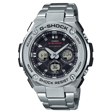 Casio G-Shock G-Steel GST-W310D-1AJF Tough Solar Multiband 6 Men's Watch - JDM (Japanese Domestic Market) Model
