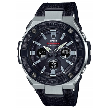Casio G-Shock G-Steel GST-W330AC-1AJF Tough Solar Multiband 6 Men's Watch - JDM (Japanese Domestic Market) Model