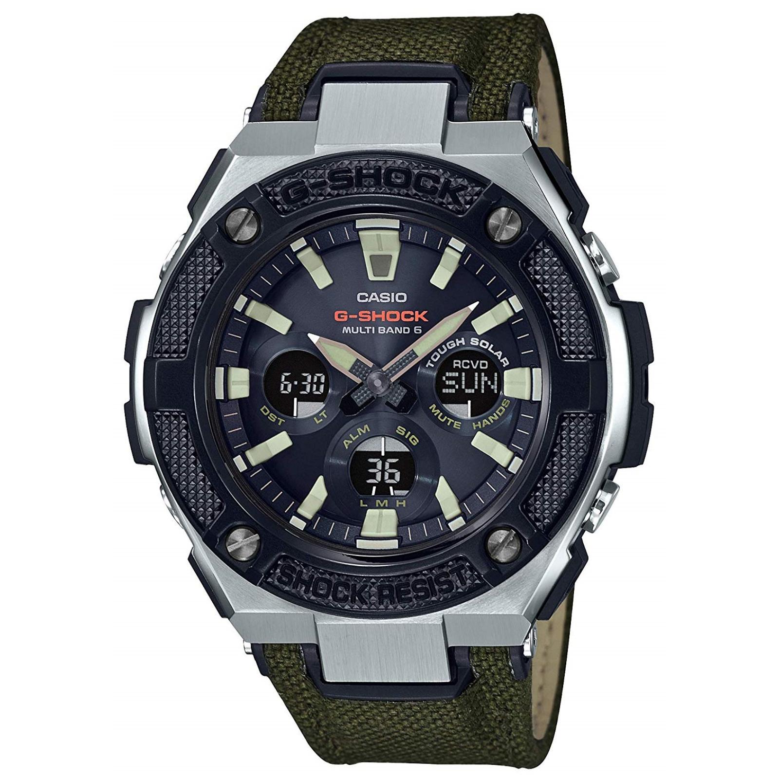 Casio G Shock G Steel Gst W330ac 3ajf Solar Radio Men S Watch