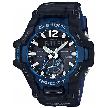Casio G-Shock GR-B100-1A2JF Gravitymaster Tough Solar Bluetooth Mobile Link Men's Watch - JDM (Japanese Domestic Market) Model