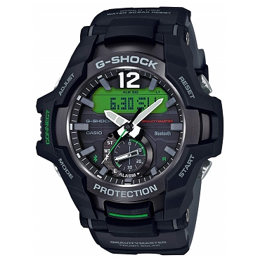 Casio G-Shock GR-B100-1A3JF Gravitymaster Tough Solar Bluetooth Mobile Link Men's Watch - JDM (Japanese Domestic Market) Model