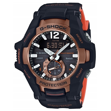 Casio G-Shock GR-B100-1A4JF Gravitymaster Tough Solar Bluetooth Mobile Link Men's Watch - JDM (Japanese Domestic Market) Model