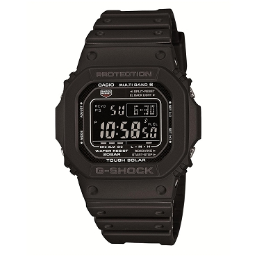 Casio G-Shock GW-M5610-1BJF Tough Solar Multiband 6 Men's Watch - JDM (Japanese Domestic Market) Model
