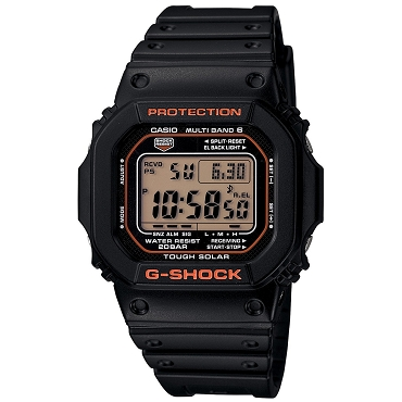 Casio G-Shock GW-M5610R-1JF Tough Solar Multiband 6 Men's Watch - JDM (Japanese Domestic Market) Model