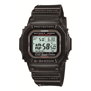Casio G-Shock GW-S5600-1JF Tough Solar Multiband 6 Men's Watch Carbon Fiber Band - JDM (Japanese Domestic Market) Model