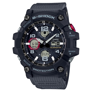 Casio G-Shock GWG-100-1A8JF Mudmaster Tough Solar Multiband 6 Men's Watch - JDM (Japanese Domestic Market) Model