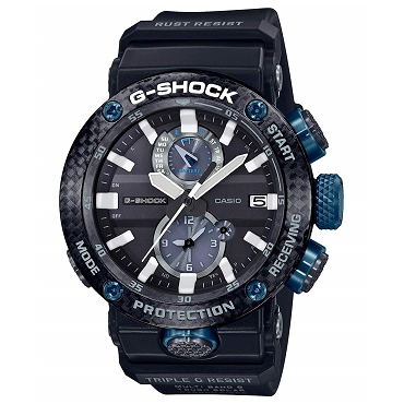 Casio G-Shock GWR-B1000-1A1JF Gravitymaster Carbon Core Guard Tough Solar Multiband 6 Men's Watch - JDM (Japanese Domestic Market) Model