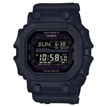 Casio G-Shock GXW-56BB-1JF Tough Solar Multiband 6 All Black Limited Men's Watch - JDM (Japanese Domestic Market) Model