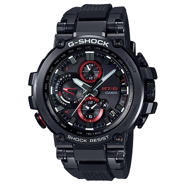 Casio G-Shock MT-G MTG-B1000B-1AJF Triple G Resist Tough Solar Multiband 6 Men's Watch - JDM (Japanese Domestic Market) Model