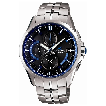 Casio Oceanus OCW-S3000-1AJF Titanium Tough Solar Multiband 6 Men's Watch - JDM (Japanese Domestic Market) Model