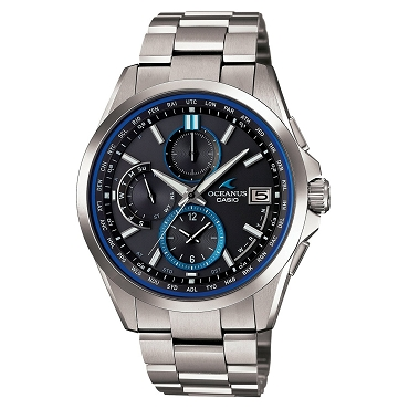 Casio Oceanus OCW-T2600-1AJF Titanium Tough Solar Multiband 6 Men's Watch - JDM (Japanese Domestic Market) Model