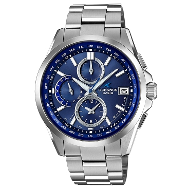 Casio Oceanus OCW-T2600-2A2JF Titanium Tough Solar Multiband 6 Men's Watch - JDM (Japanese Domestic Market) Model