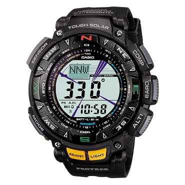 Casio Pro Trek PRG-240-1JF Triple Sensor Outdoor Sports Tough Solar Men's Watch - JDM (Japanese Domestic Market) Model