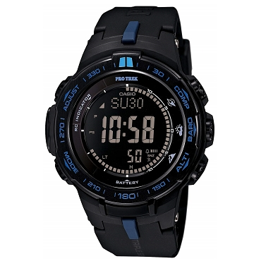 Casio Pro Trek PRW-3100Y-1JF Triple Sensor Tough Solar Multiband 6 Slim Line Men's Watch - JDM (Japanese Domestic Market) Model