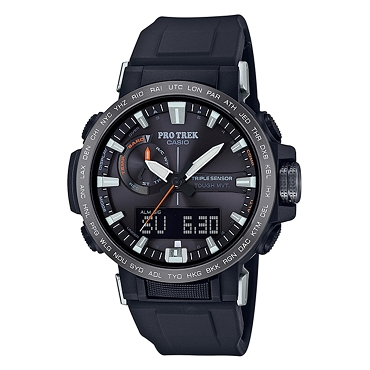Casio Pro Trek PRW-60Y-1AJF Triple Sensor Tough Solar Multiband 6 Climber Line Men's Watch - JDM (Japanese Domestic Market) Model