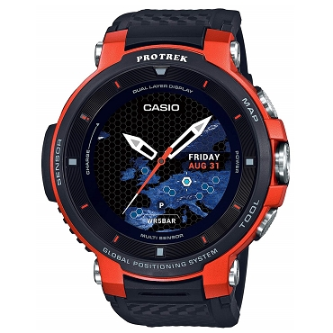 Casio Protrek WSD-F30-RG Smart Outdoor GPS Wear OS by Google Watch Orange - JDM (Japanese Domestic Market) Model