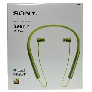 Sony MDR-EX750BT H.ear in High-Resolution Audio Wireless Bluetooth NFC Stereo In-ear Headset - Lime Yellow