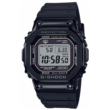 Casio G-Shock GMW-B5000G-1JF Bluetooth Tough Solar Multiband 6 Metal Case Men's Watch - JDM Product (Japanese Domestic Market) Model