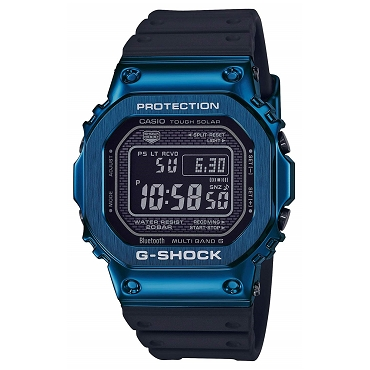 Casio G-Shock GMW-B5000G-2JF Bluetooth Tough Solar Multiband 6 Metal Case Men's Watch - JDM Product (Japanese Domestic Market) Model