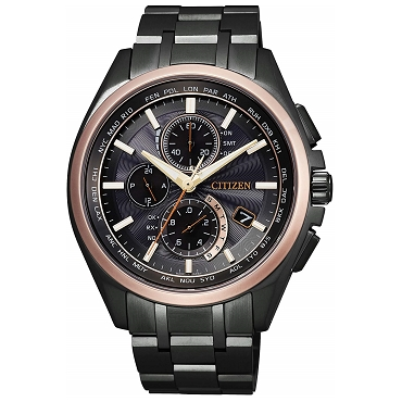 Citizen Attesa AT8046-51E Eco-drive Solar Atomic Radio Men's Watch 100th Anniversary Commemorative Limited Edition 1800 pcs Worldwide - JDM (Japanese Domestic Market) Model