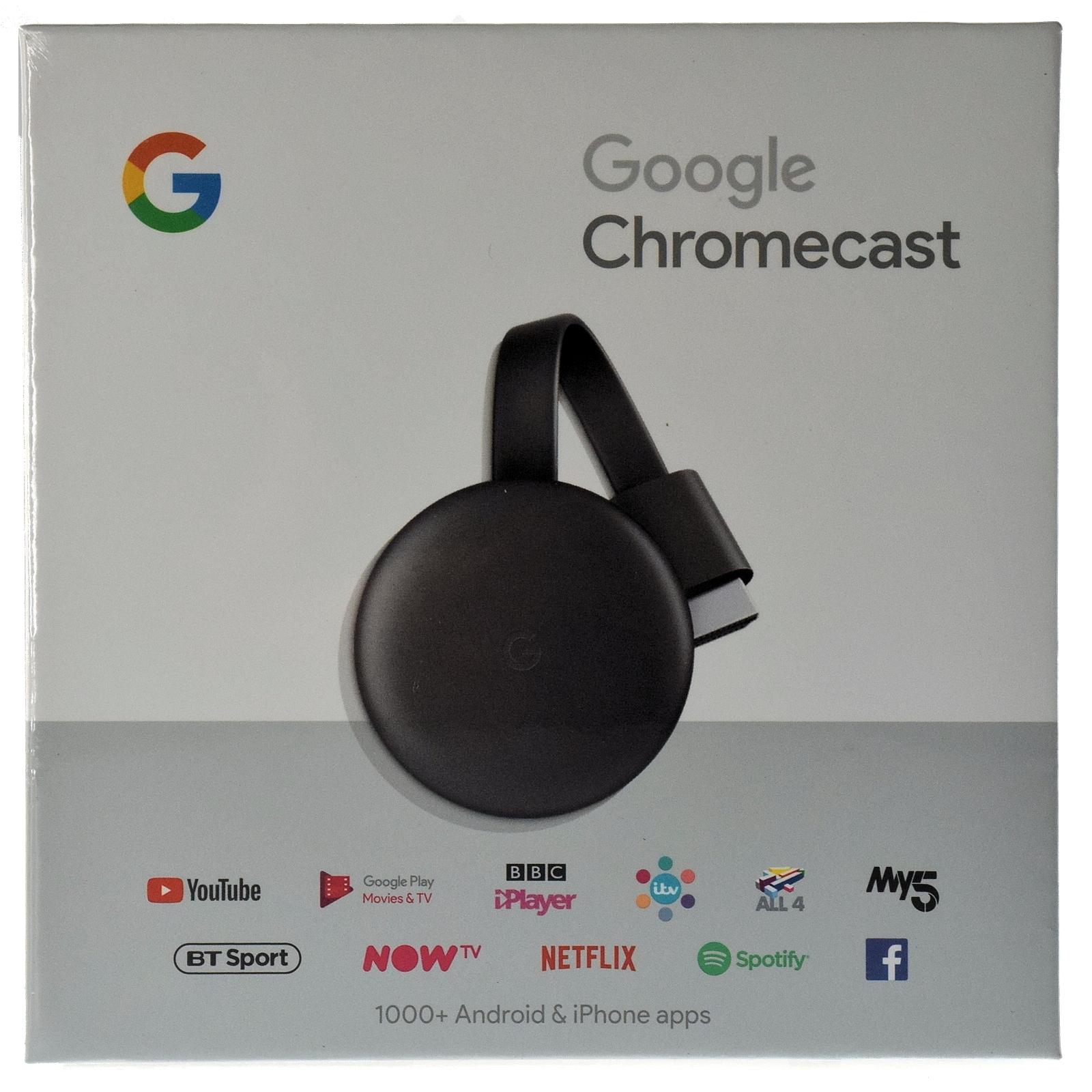 Google Chromecast 3rd Generation 1080p Resolution | IOOMOBILE