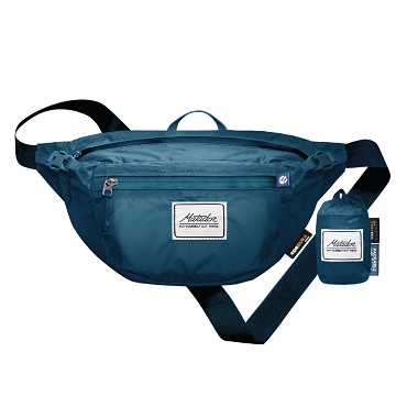 Matador Daylite Ultralight Waterproof Folding Hip Pack Belt Bag Certilogo - Indigo
