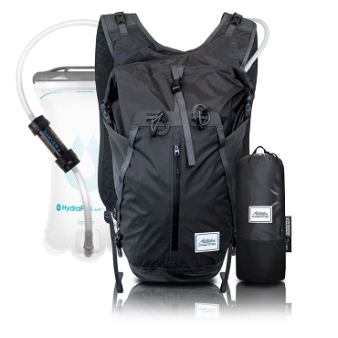 Matador Hydrolite 2 Liters Hydration + Filtration Pack Packable Waterproof Backpack Grey - Certilogo