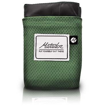 Matador Pocket Blanket Version 2.0 Ultralight Water Repellent Puncture Resistant - Alpine Green 63