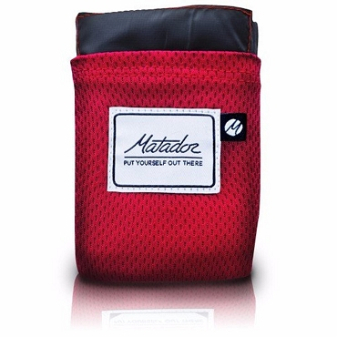 Matador Pocket Blanket Version 2.0 Ultralight Water Repellent Puncture Resistant - Original Red 63