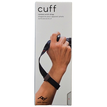 Peak Design Cuff CF-BL-3 Ultralight Camera Wrist Strap - Black