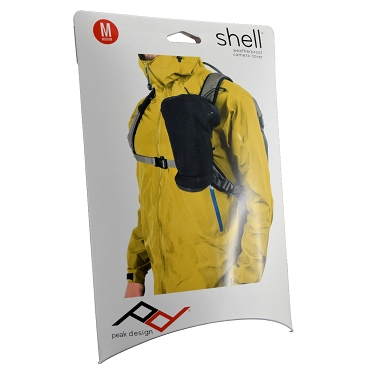 Peak Design Shell Medium Form-Fitting Rain and Dust Cover (Black) SH-M-1