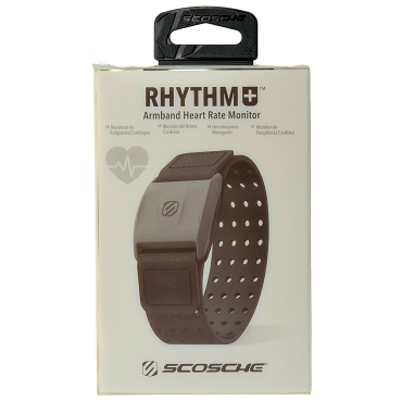 Scosche Rhythm Plus Rhythm+ Armband Heart Rate Monitor with Bluetooth Ant+ Connectivity