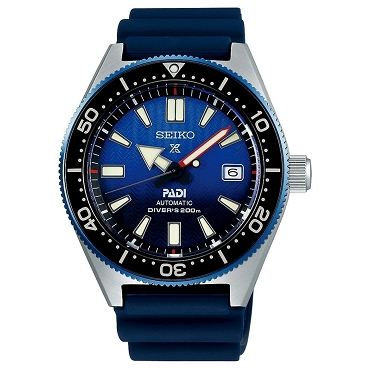 Seiko SBDC055 Prospex Diver Scuba PADI Special Model Mechanical Water Resistance 200m Navy Blue Men's Watch - Made in Japan
