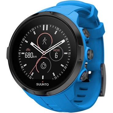 Suunto Spartan Sport Wrist HR Multisport Water Resistance GPS Watch with Color Touch Screen and Wrist Heart Rate Blue SS022663000