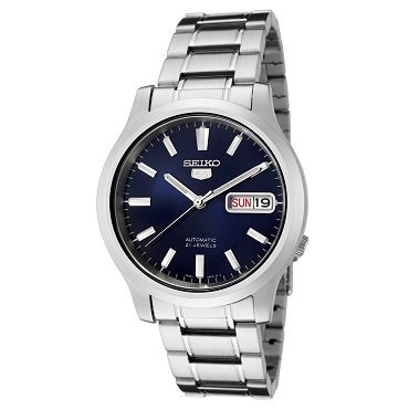 Seiko 5 SNK793K1 SNK793 Automatic 21 Jewels Blue Dial Stainless Steel Men's Watch