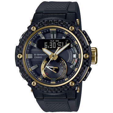 Casio G-Shock G-Steel GST-B200X-1A9JF Carbon Core Guard Mobile Link Bluetooth Tough Solar Men's Watch - JDM Product (Japanese Domestic Market) Model