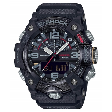 Casio G-Shock GG-B100-1AJF Mudmaster Carbon Core Bluetooth Mobile Link Men's Watch - JDM Product (Japanese Domestic Market)