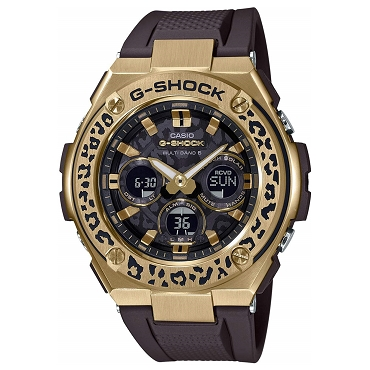 Casio G-Shock G-Steel GST-W310WLP-1A9JR LOVE THE SEA AND THE EARTH Wildlife Promising Tough Solar Multiband 6 Men's Watch - JDM (Japanese Domestic Market) Model