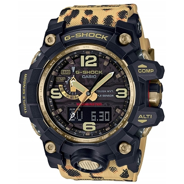 Casio G-Shock GWG-1000WLP-1AJR LOVE THE SEA AND THE EARTH Wildlife Promising Triple Sensor Tough Solar Multiband 6 Men's Watch - JDM (Japanese Domestic Market) Model