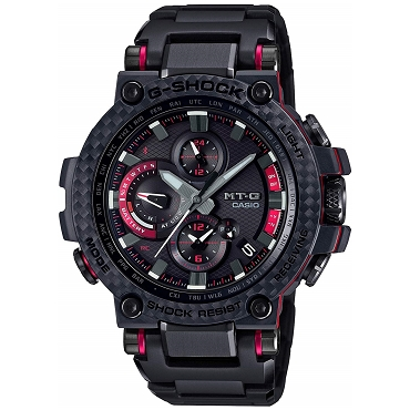 Casio G-shock MT-G MTG-B1000XBD-1AJF Triple G Resist Tough Solar Mobile Link Bluetooth Multiband 6 Men's Watch - JDM (Japanese Domestic Market) Model
