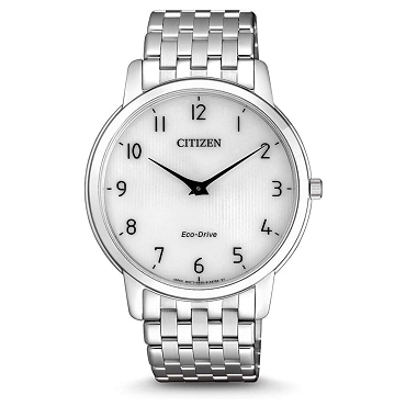 Citizen AR1130-81A Eco-Drive Stiletto Ultra Thin Sapphire Stainless Steel Men's Watch