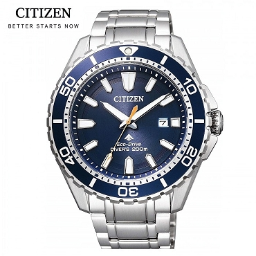 Citizen Promaster BN0191-80L Eco-Drive Blue Dial Stainless Steel Men's Watch